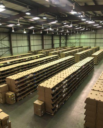 Lesters supply bespoke pick bins to Hi-TEC EUROPE